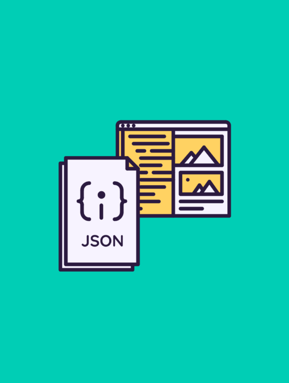 What is JSON Featured Image