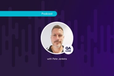 Photo of Pete Jenkins for QAL Podcast