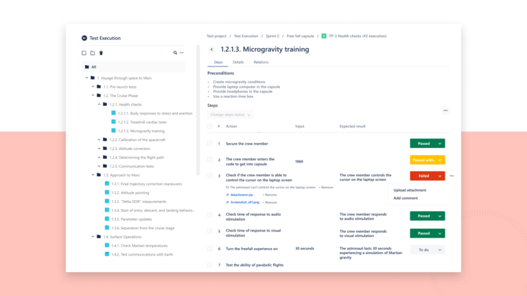 Screenshot Of Hexygen for test management tools for jira