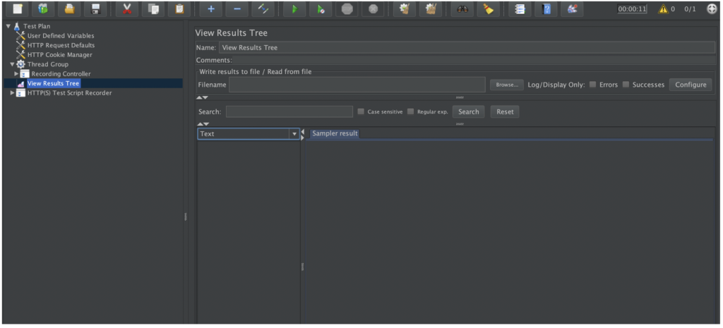 Screenshot Of Loadium for Free Test Management Tools