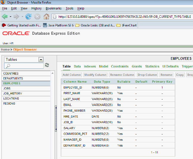 Oracle Best Database Management Screenshot